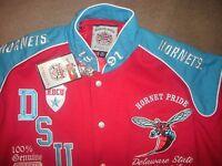 Delaware State University Varsity Jacket Hbcu College Letterman Style Size 3xl