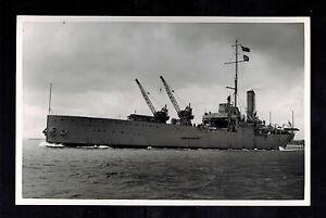1934 BW Photo British Navy Seaplane Tender ship HMS Pegasus