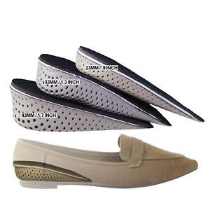 86363457223 Details about Hidden Heel Wedge Instant Elevation Kit For High Heel & Flat  Shoes