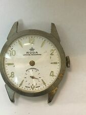 Vintage Roda Watch, Non-Working for Parts or Fixing,Anti-magnetic Wind Up #124