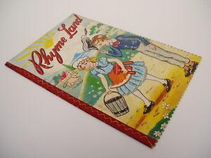 RHYME-LAND-Connie-Christie-illustrator-JAPAN-RARE