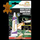 Technicqll Strong Clear Adhesive Glue - Hard Plastic ABS TR Eva Perspex Acrylic Glass