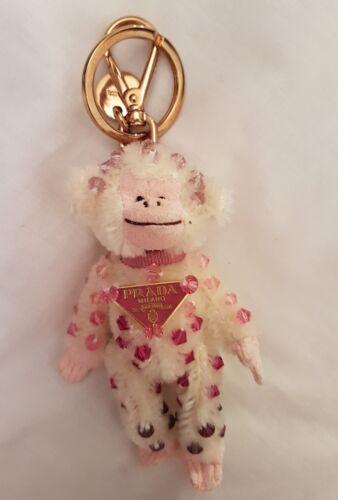 Authentic Prada Teddy Bears Key ring Hermione super rare afficher le titre d'origine