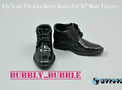 """1//6 Shoes Moc Toe High Heels Dress Shoes For 12/"""" Male Figures SHIP FROM USA"""
