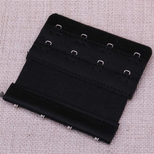 1PC//5PCs Women Bra Extender Strap Extension 4 Hooks 2 Rows Underwear Adjustab Oa