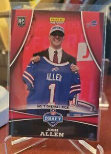 2018 Panini Instant - JOSH ALLEN - NFL Draft Bills 7th Pick - ROOKIE SP - #/370