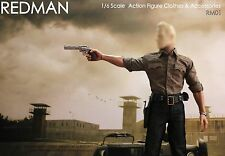 1/6 Scale REDMAN Sheriff Casual Edition Package RM01 fit walking dead Hottoys