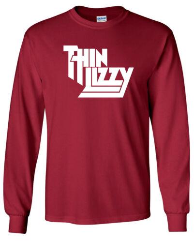 THIN LIZZY Classic Rock Band LONG SLEEVE T-shirt