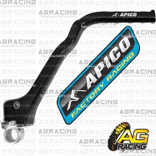 Apico Black Kick Start Kick Starter Lever Pedal For KTM EXC-F 500 2016