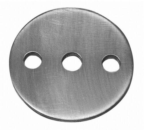 Ankerplatte Durchmesser 100 mm 8 mm dick #2613 Stahl