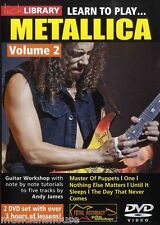 Metallica Gitarrenunterricht Vol. 2 DVD
