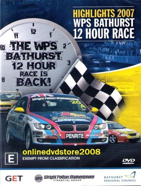 WPS BATHURST 12 HOUR RACE 2007 Highlights - Aussie Motor Racing DVD (NEW SEALED)