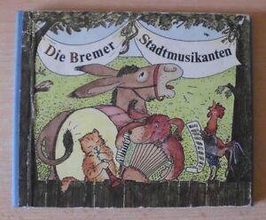 Die-Bremer-Stadtmusikanten-Jutta-Kirschner-DDR-Bilderbuch-4-Bilder