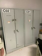 Lockable Metal Storage Cabinets With Shelves 3x18