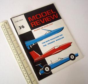 1969 Numéro Un Problème Modèle Review Magazine Builders & Buyers Guide V1 #1-afficher Le Titre D'origine