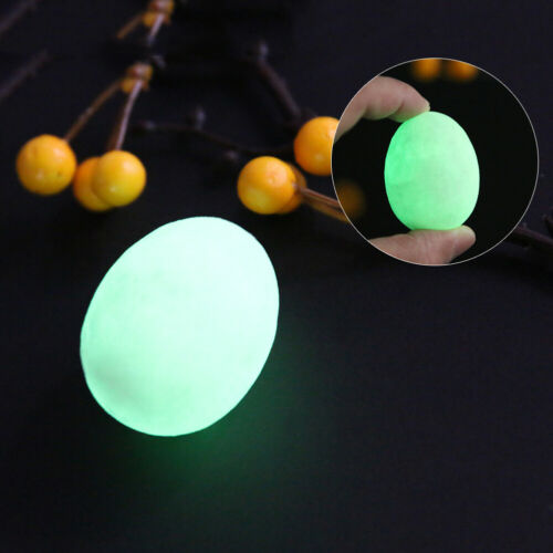 Luminous Ball Egg Natural Calcite Glowing Pearl Stones Lucky Stone Easter Decor
