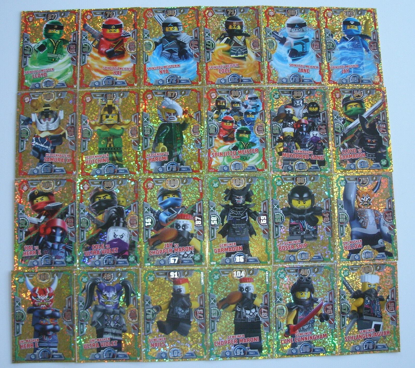 LEGO Ninjago Serie 3 Trading Card Game LE8 Heldenhafter Hutchins