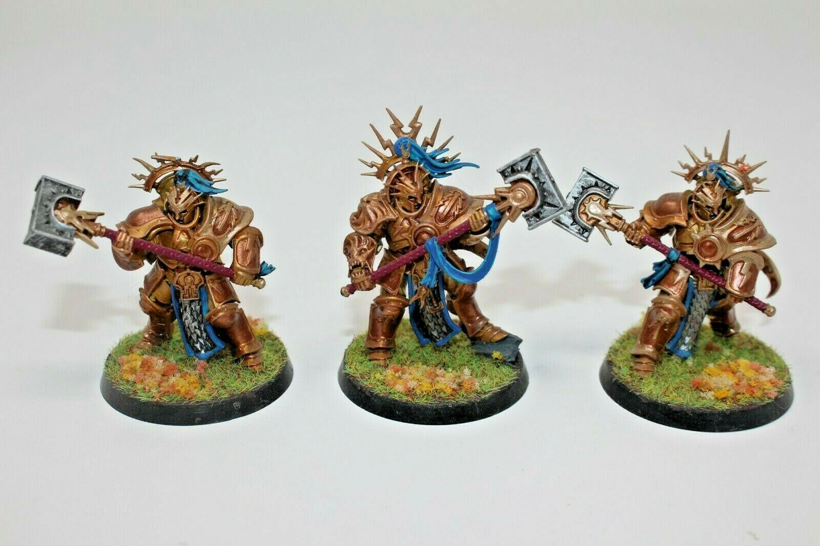 Warhammer Stormcast Eternals Retributors Well Painted - JYS89
