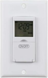 Refurbished-Weekly-Programmable-In-Wall-Timer-Switch-Digital-for-Fans-Lights