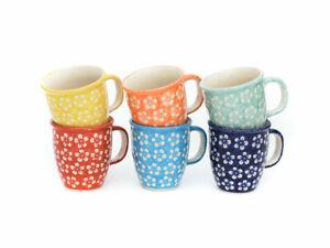 Bunzlauer Keramik Becher Tasse 300 ml Dekor JS14