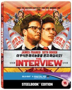 The-Interview-Steelbook-Blu-Ray-Nuovo-SBRC6382SBUV