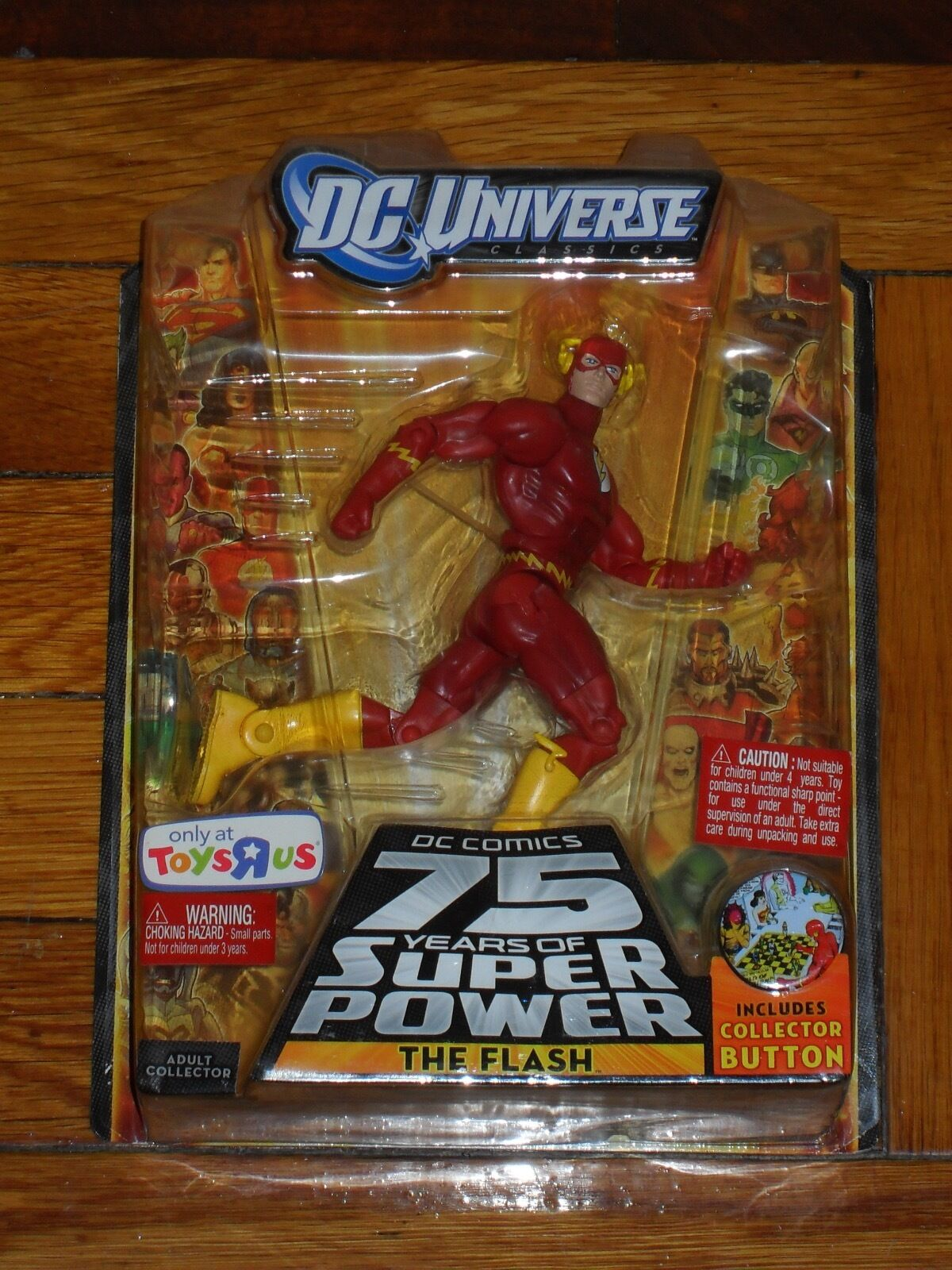 Dc - universum 75 jahre superkräfte all - star - flash 6.action - figur
