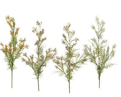 Ramo X4 Gypsophila Lux H.84 Cm Artificiale Colorato Decorazione Primavera/pasqua Completa In Specifiche