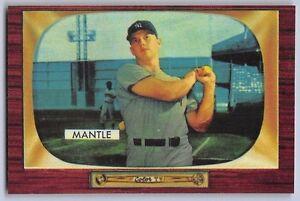 1955-MICKEY-MANTLE-BOWMAN-034-REPRINT-034-Baseball-Card-202-NEW-YORK-YANKEES