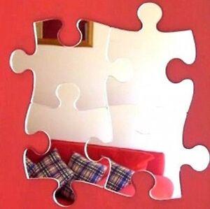 Jigsaw Shaped Acrylic Mirrors - Various Sizes