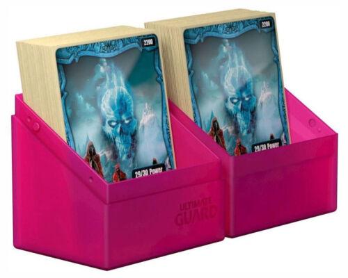 ULTIMATE GUARD BOULDER RHODONITE Standard Size DECK CASE 80 Card Storage Box