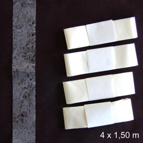 BANDE THERMOCOLLANT 6 MÈTRES POUR OURLET FACILE 25 MM DE LARGE 4x1,50 M