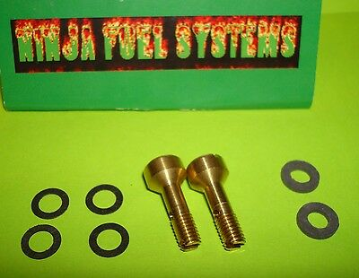 Holley Bowl Screws /& Nylon Washers For 4165 Series Carbs