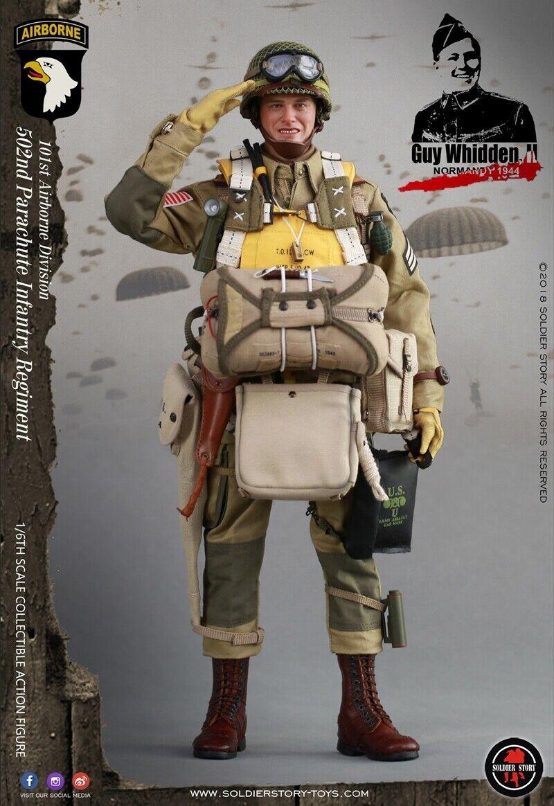 1 6 US 502 Parachute Infantry Figure Soldier Model 101st Airborne Division 12