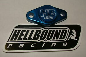 Hellbound-Racing-parking-brake-blockoff-Honda-450r-TRX450r-450er-2004-2012-BLUE