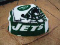 New York Jets fleece Hat - Newborn Baby Girls, boys, Children, Adult women & men