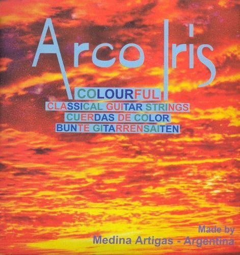 bunte Saiten Medina Artigas Arco Iris Gitarrensaiten
