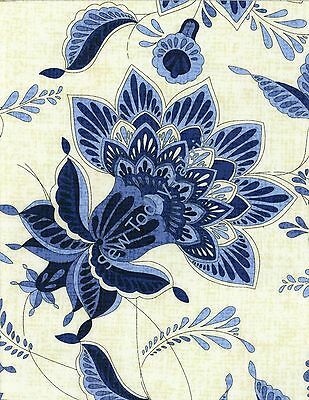 sold by the 1//2 yard CAPRICE-C9769-BLUE Timeless Treasures Caprice Fans