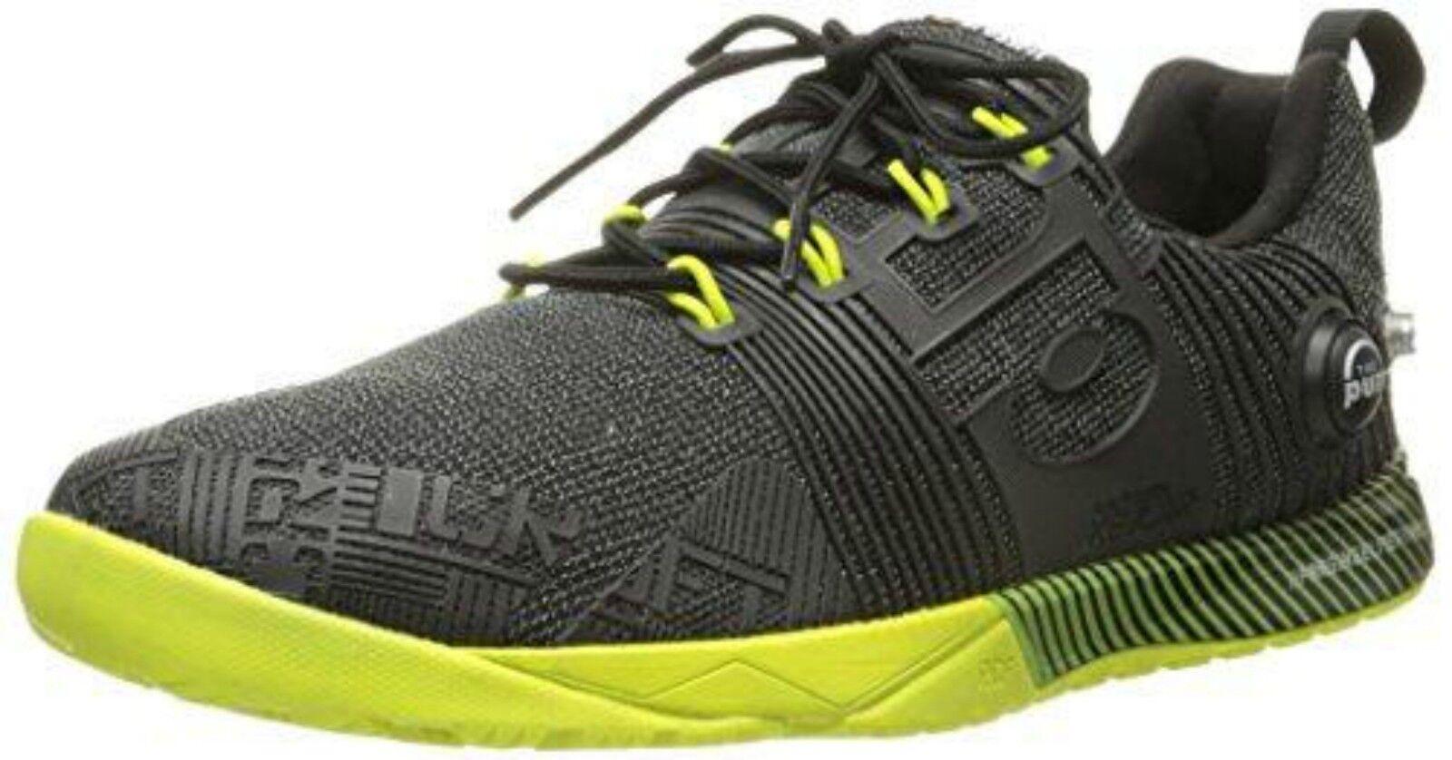 Reebok donna CrossFit Nano Pump Fusion Fusion Fusion Training scarpe nero giallo ALL DimensioneS b4a726
