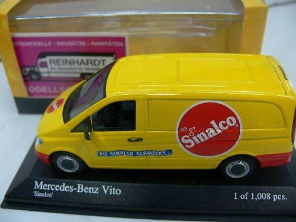 Sconto del 70% a buon mercato 1 1 1 43 Minichamps MB Vito riquadro Sinalco 400032261  marchi di moda