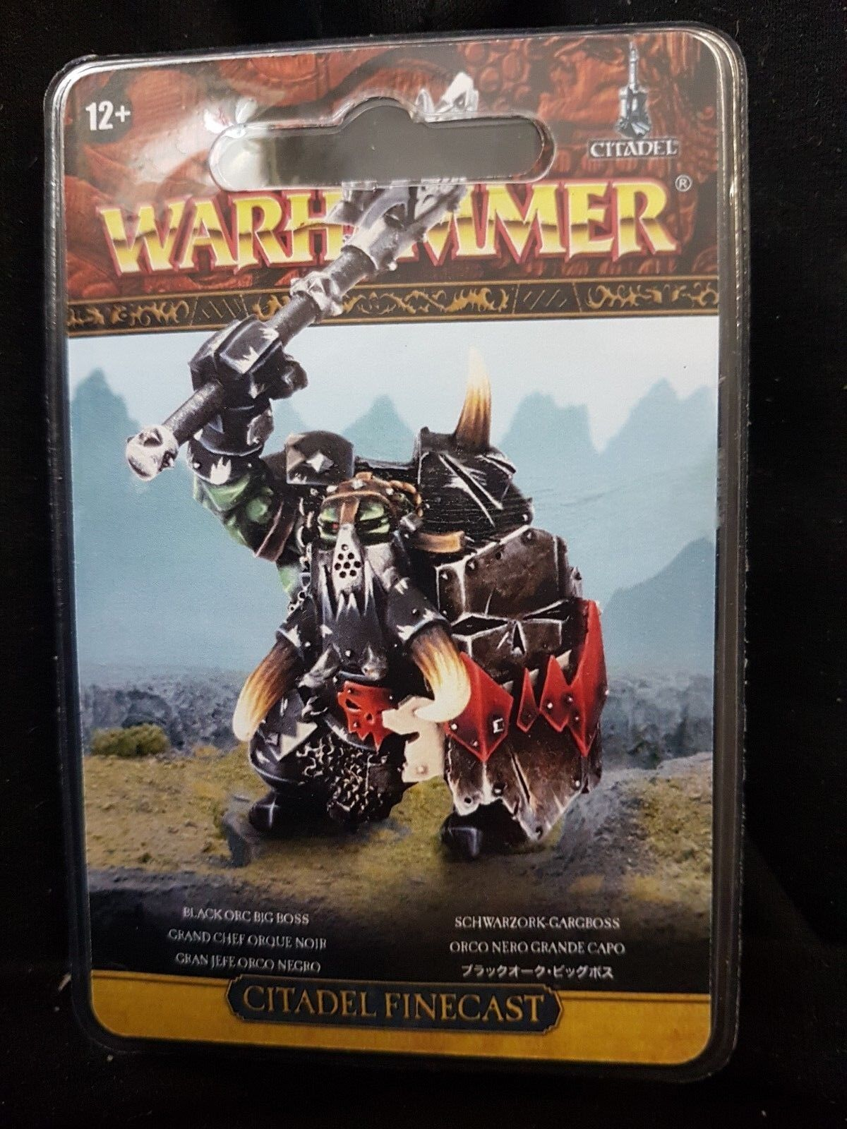 Noir Orc Big Boss Boss Boss - Warhammer Fantaisie Âge de Sigmar - Games Workshop fff4e9