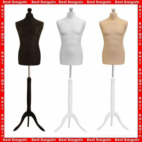 NEW STUDENT DRESSMAKERMALE TAILORS DUMMYDISPLAY BUSTMANNEQUIN