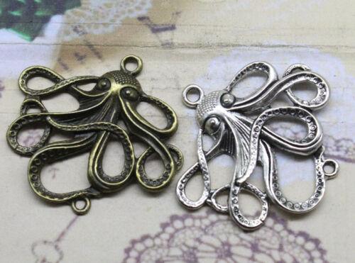 3//10pcs 44X50mm double orifice octopus connector style restoring ancient ways