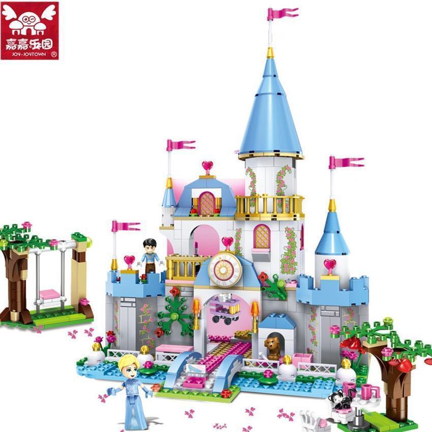 669 pieces Cinderella romantic dream castle.