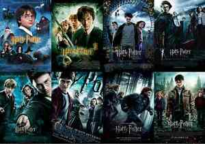STICKERS AUTOCOLLANT TRANSP POSTER A4 FILM MOVIE HARRY POTTER RON /& HERMIONE.