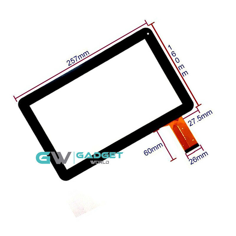 For 10.1/'/' Tablet Touch Screen Digitizer Repair Sensor XGODY T1004