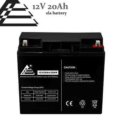 12V 20AH threaded Battery replaces UB12220 51913 12896 ub12180 gp12170 np18-12