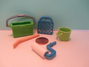 Playmobil accessories SET OF 2 IDENTICAL OLD FASHIONED SPECKLED ROCKING HORSES
