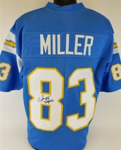 big sale fd046 10f01 Details about Anthony Miller Signed Chargers Jersey Inscribed