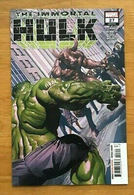 Immortal Hulk 17 2019 Alex Ross Main Cover 1st Print Marvel Comics NM+