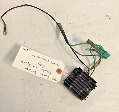 1998 Yamaha 90TLRW Rectifier and Regulator Assy #6H0-81960-00-00